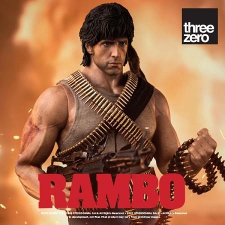 Threezero Rambo: First Blood John Rambo 1/6 Scale Action Figure
