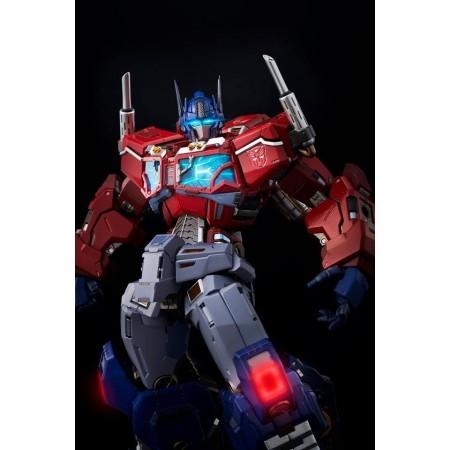 Juguetes de llamas Kuro Kara Kuri Optimus Prime Premium Figura