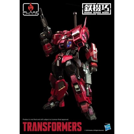 Flame Toys Shattered Glass Drift Premium Transformers Figure