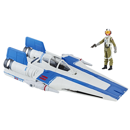 Star Wars Force Link A-Wing Fighter & Pilot