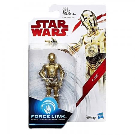 Star Wars Force link 3.75 Inch C-3PO