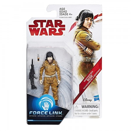 Star Wars Force Link 3.75 Inch Tech Rose ( The Last Jedi )