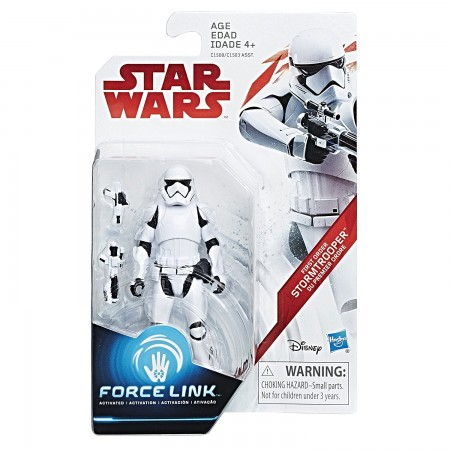 Star Wars Force link 3.75 Inch First Order Stormtrooper