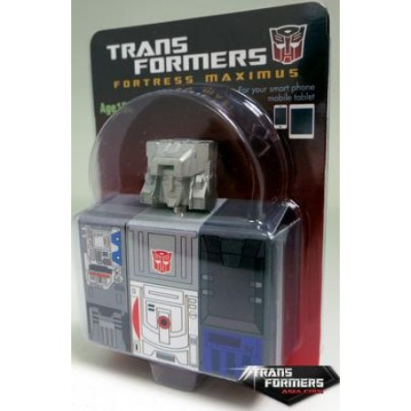 Transformers Asia Encore 23 Fortress Maximus Exclusive Diecast Headhone Jack Plug