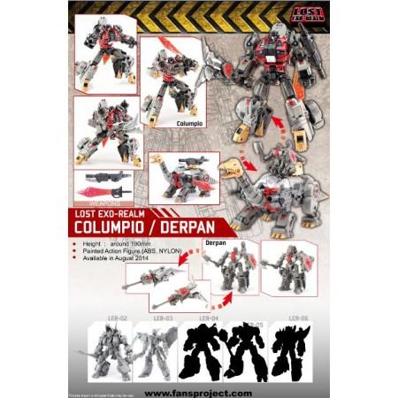Lost Exo-Realm - LER-01 Columpio & Derpan