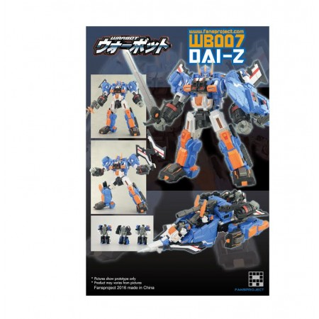 Fansproject WB007 Warbot Dai-Z