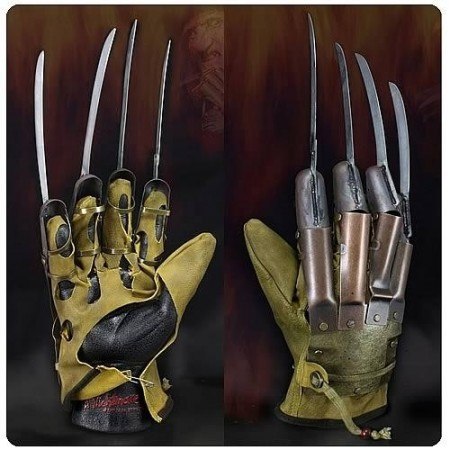 NECA Nightmare On Elm Street Freddy's Glove Prop Replica