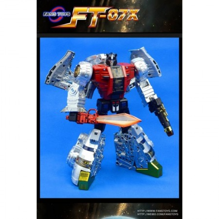 Fanstoys FT-07X Stomp ( Metallic )