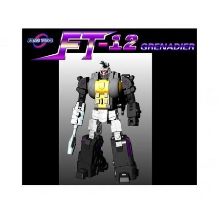 Fanstoys FT-12 Grenadier ( Bombshell )  - Grey Chest DEPOSIT