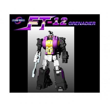 Fanstoys FT-12 Grenadier ( Bombshell ) - Purple Chest
