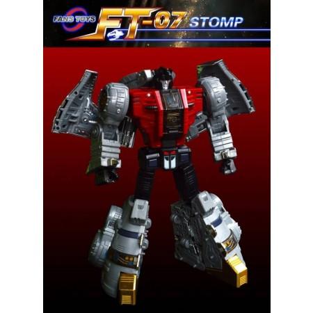 Fanstoys FT07 Stomp Iron Dibots Reissue