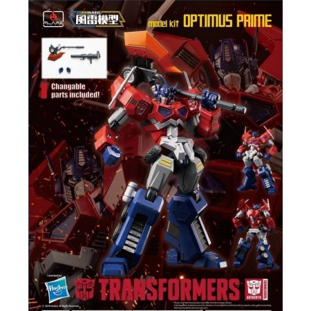 Flame Toys Furai Model 01 Optimus Prime Attack Mode Model Kit