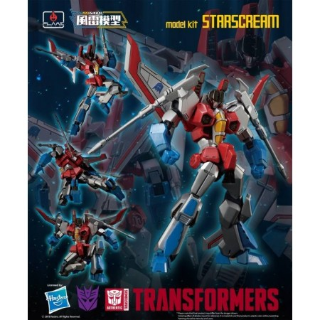 Flame Toys Furai Model 02 Starscream Model Kit
