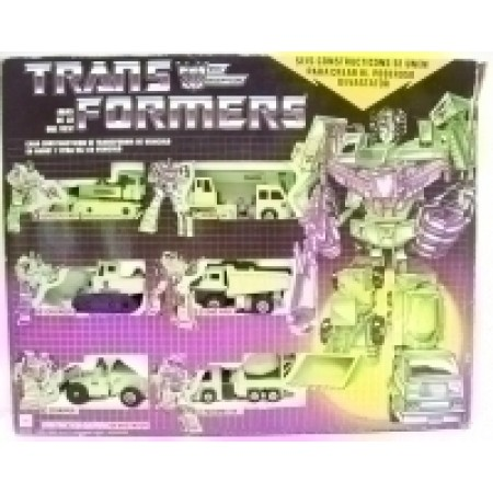 Transformers G1 IGA Mexican Devastator Gift Set