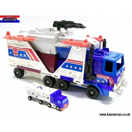 Transformers G1 Micromaster Autobot Headquarters With Full Barrel & Overflow 100% Complete