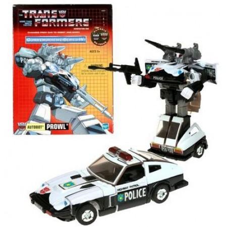 Transformers G1 TRU Reissue Prowl