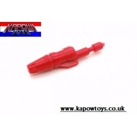 Transformers G1 Autobot Red Alert Missile / Rocket