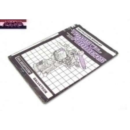 Galvatron Instruction Manual Transformers G1