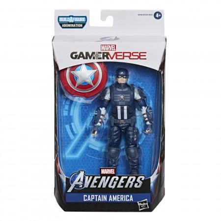 Marvel Leyendas Gamerverse Capitán América Figura de acción de 6 pulgadas