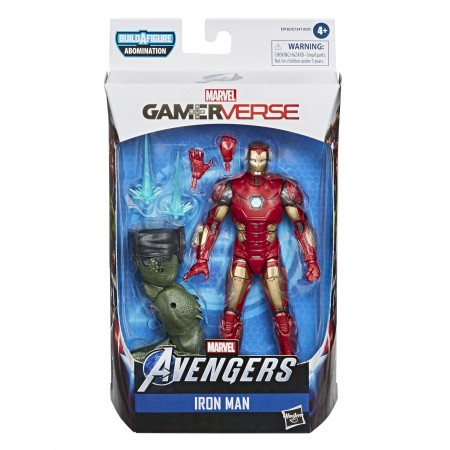 Marvel Legends Gamerverse Iron Man 6 Inch Action Figure