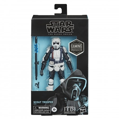 Star Wars The Black Series Gaming Greats Biker Scout Action Figure