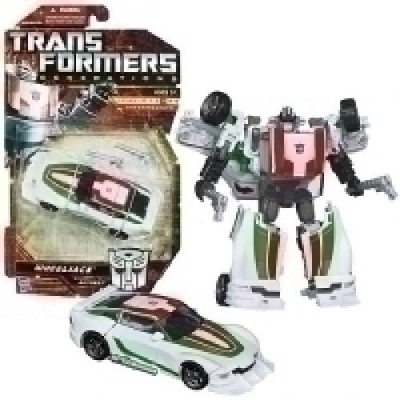 Transformers Generations Wheeljack Deluxe Figure