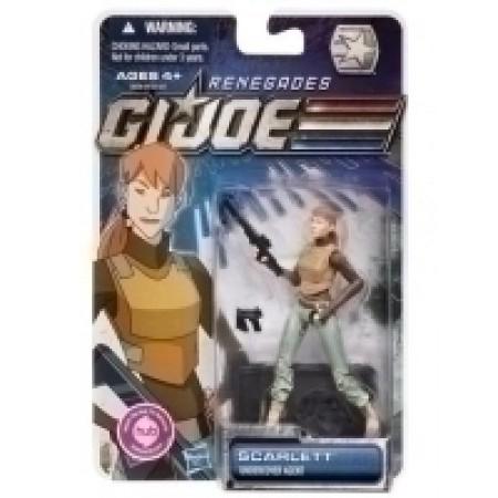 G.I. JOE Renegades SCARLETT Undercover Agent Figure