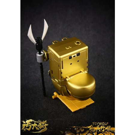 Toywolf W-01G Gold Dirty Man