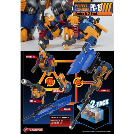Perfect Effect PC-19 Beast Gorira JR 2 Pack