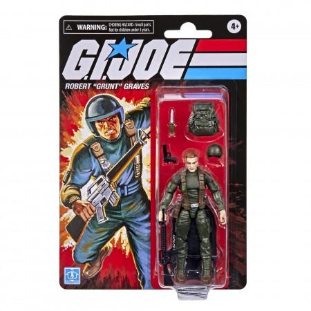 G.I. Joe Retro 3.75 Inch Grunt Action Figure