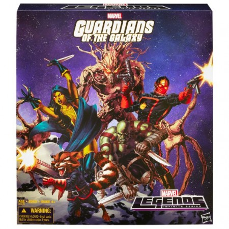 Marvel Legends Guardians Of The Galaxy Box Set