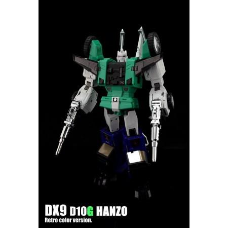 DX9 D10G Hanzo Retro Colour Version