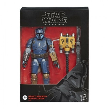 Star Wars The Black Series Heavy Mandalorian Action Figure