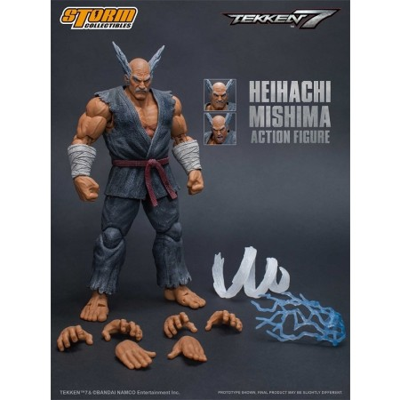storm collectibles heihachi