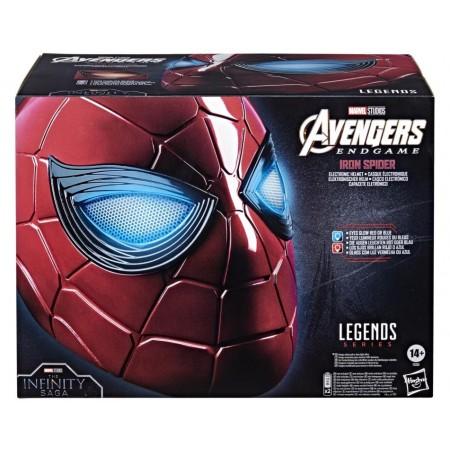 Marvel Legends Avengers Endgame Iron Spider 1/1 Electronic Helmet