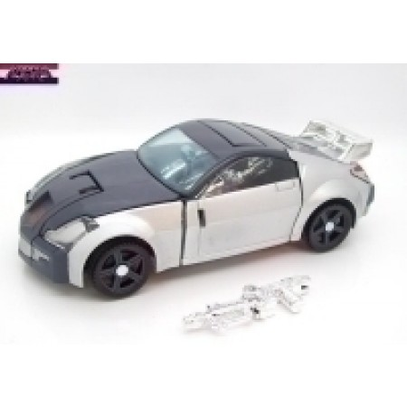 Henkei Silverstreak Transformers Figure PRE-OWNED