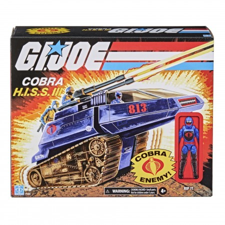 G.I. Joe Retro 3.75 Inch Cobra H.I.S.S III Vehicle and Driver