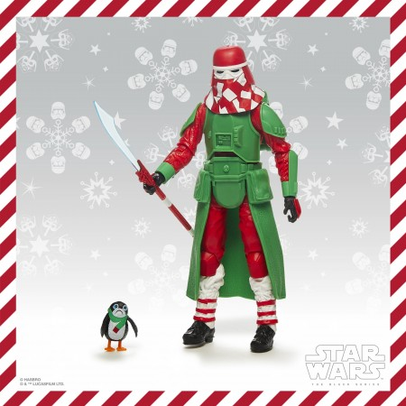 Star Wars The Black Series Snowtrooper ( Holiday Edition )