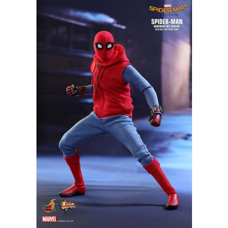 Hot Toys Spider-Man Homecoming Homemade Suit 1/6 Scale Figure