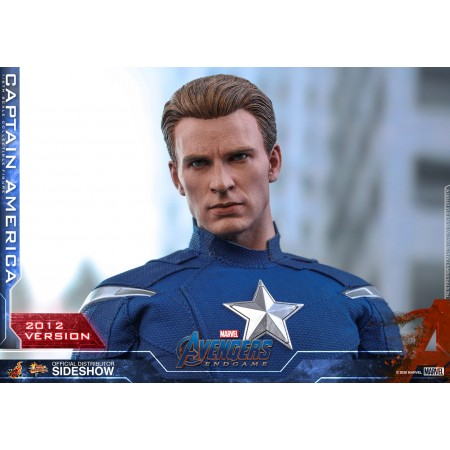 Hot Toys Captain America 2012 Avengers Endgame 1/6 Scale Figure