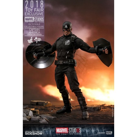 Hot Toys Concept Captain America TOYFAIR EXCLUSIVE 1/6th Scale Action Figure