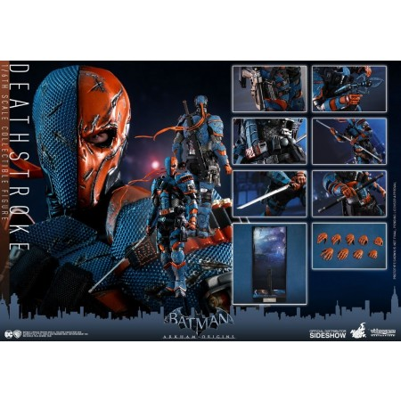 Hot Toys Arkham Origins Deathstroke 1/6th Scale Action Figure