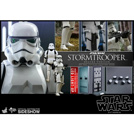 Hot Toys Star Wars Deluxe Stormtrooper 1/6 Scale Figure