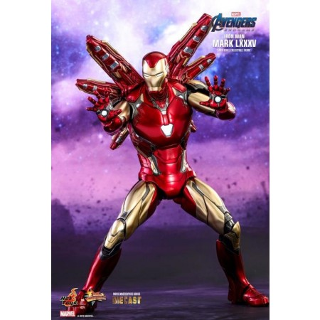 Hot Toys Avengers Endgame Iron Man Mark LXXXV 1/6th Scale Action Figure MMS528D30