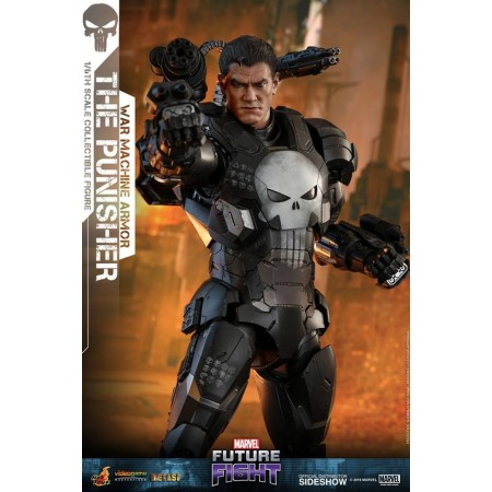 Hot Toys Future Fight Punisher War Machine Armour