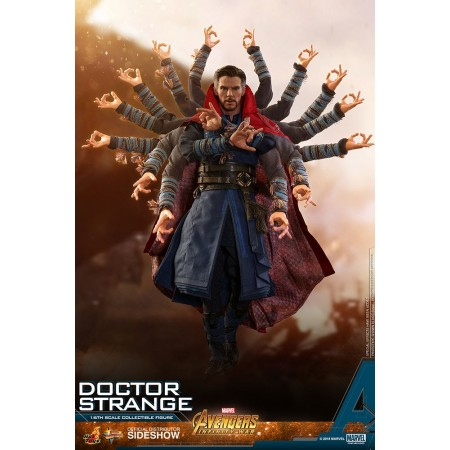 Hot Toys Avengers Infinity War Doctor Strange 1/6th Scale Figure SHIPPER NOT MINT