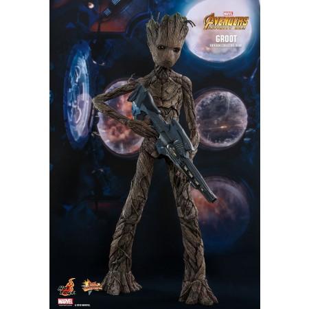 Hot Toys Avengers infinito guerra Groot escala 1/6 acción figura MMS475
