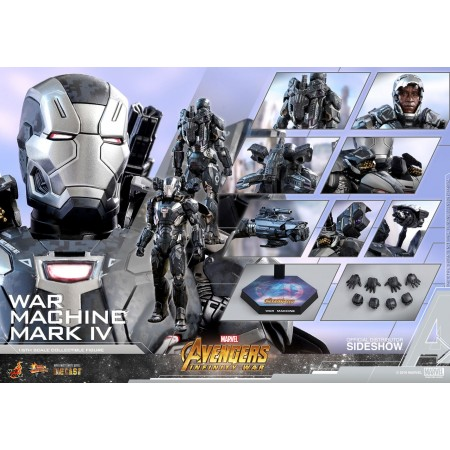 Hot toys Infinity War War Machine ( Diecast ) 1/6th Scale Action Figure