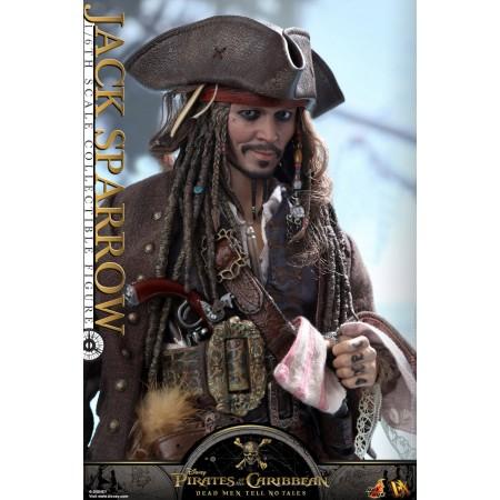 Hot Toys DX15 Jack Sparrow Dead Men TNT 1/6th Scale Figure