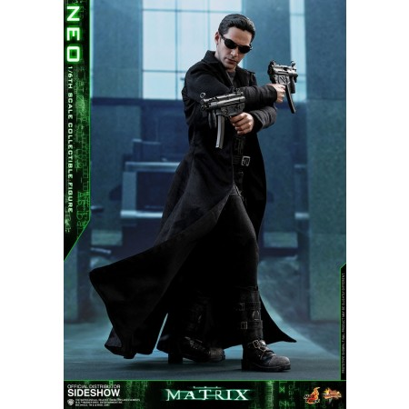 Hot Toys The Matrix Neo 1/6th Scale Action Figure